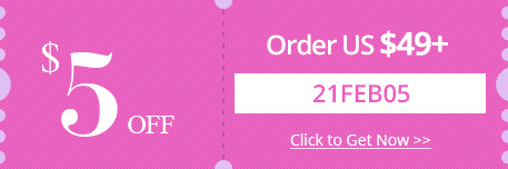 $5 OFF Order over US $49+