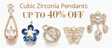 Cubic Zirconia Pendants Up To 40% OFF