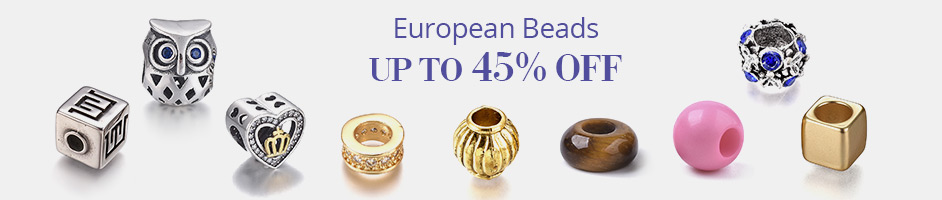 European Beads Up To 45% OFF