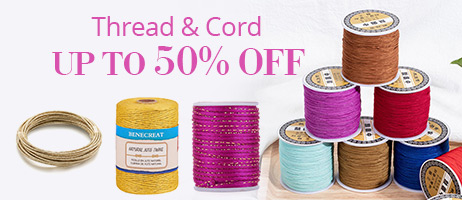 Thread & Cord Up To 50% OFF