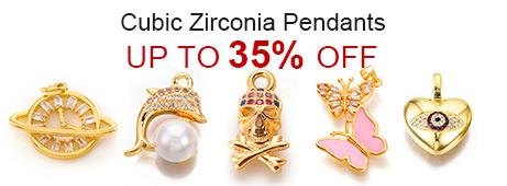 Cubic Zirconia Pendants Up To 35% OFF