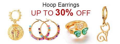 Hoop Earrings Up To 30% OFF