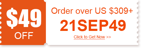 $49 OFF Order over US $309+