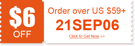 $6 OFF Order over US $59+