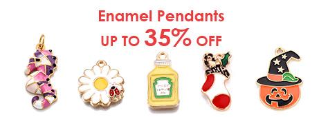 Enamel Pendants Up To 35% OFF