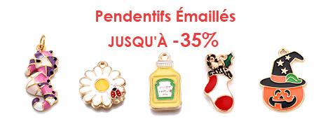 Pendentifs Émaillés Jusqu'à -35%
