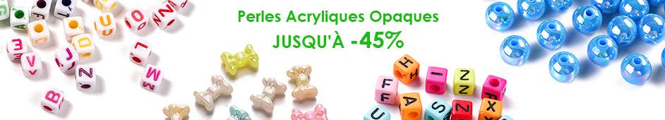 Perles Acryliques Opaques Jusqu'à -45%