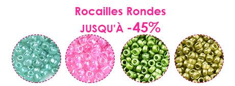 Rocailles Rondes Jusqu'à -45%