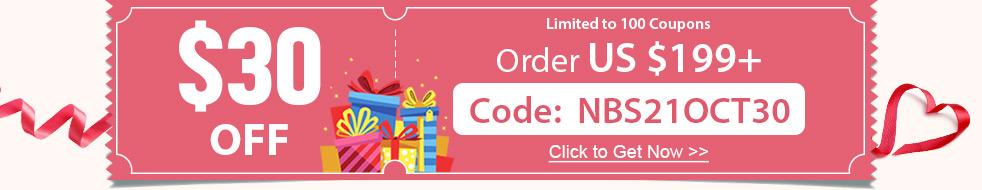 $30 OFF Order US $199+