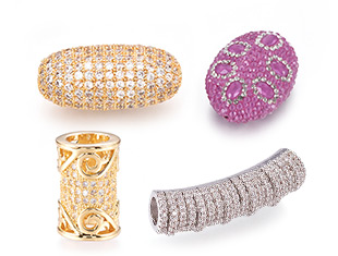 Cubic Zirconia Beads Up to 85% OFF