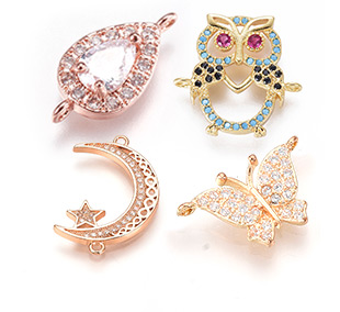 Cubic Zirconia Links Up to 85% OFF