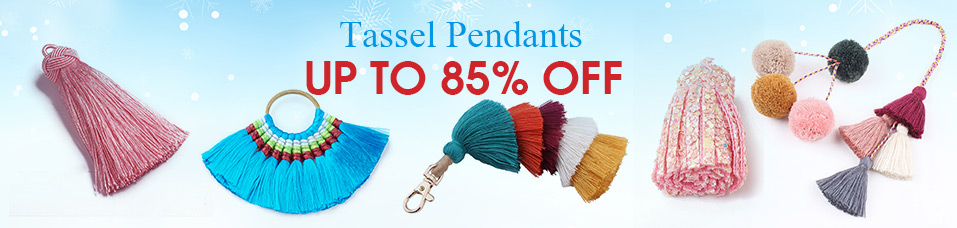 Tassel Pendants Up to 85% OFF