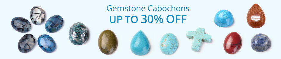 Gemstone Cabochons Up To 30% OFF