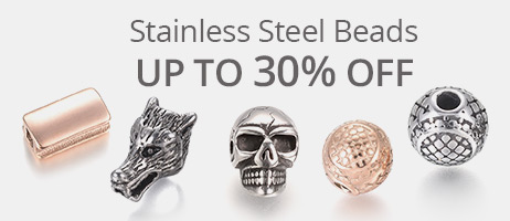 Stainless Steel Beads Up To 30% OFF