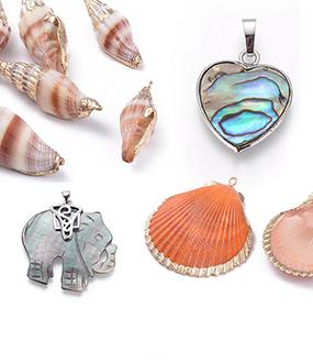 Shell & Pearl Pendants