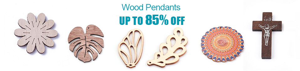 Wood Pendants Up to 85% OFF