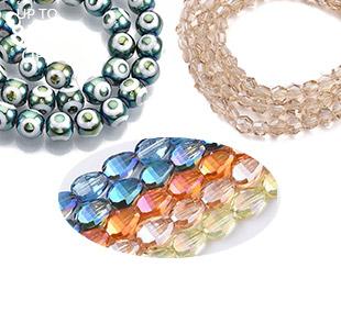 Perles En Verre Électroplate Jusqu'à -85%