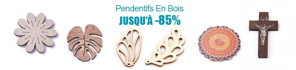 Pendentifs En Bois Jusqu'à -85%