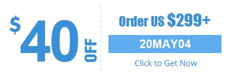 $40 OFF Order US $299+