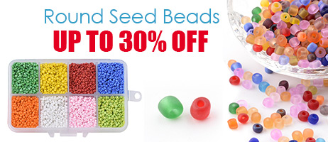 Round Seed Beads Up To 30% OFF