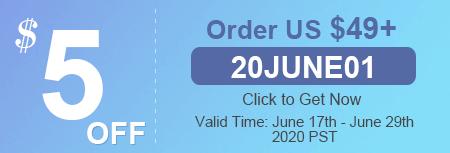 $5 OFF Order US $49+