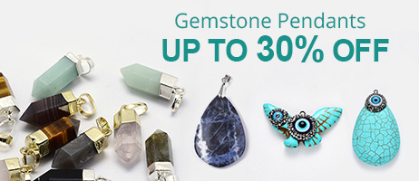 Gemstone Pendants Up To 30% OFF