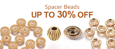 Spacer Beads Up To 30% OFF