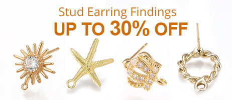 Stud Earring Findings Up To 30% OFF