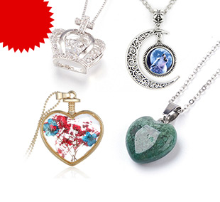 Pendant Necklaces Up to 85% OFF