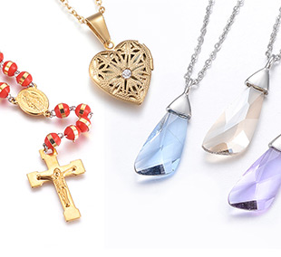 Stainless Steel Necklaces Up to 85% OFF