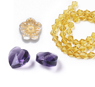 Normal Glass Beads Up To 85% OFF