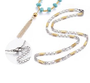 Ожерелья из Нержавеющей Стали СКИДКИ до -106%