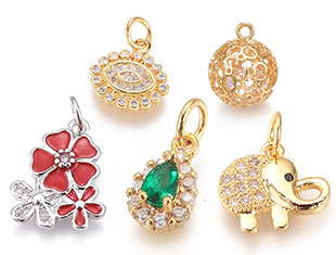 Cubic Zirconia Pendants Up To 30% OFF