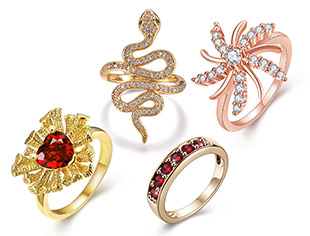 Cubic Zirconia Rings Up To 40% OFF