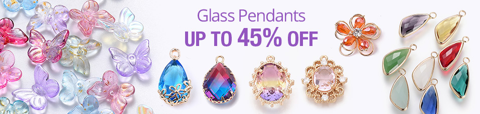 Glass Pendants Up To 45% OFF