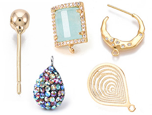 Stud Earring Findings Up to 55% OFF