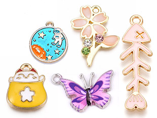 Enamel Pendants UP to 50% OFF