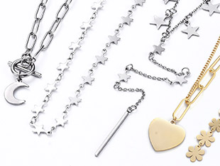 Stainless Steel Necklaces UP to 60% OFF
