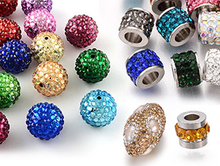 Perles Avec Strass Jusqu'à -55%
