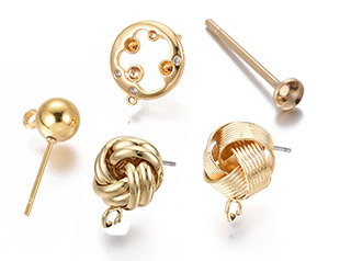Stud Earring Findings  UP to 50% OFF