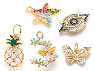 Cubic Zirconia Pendants Up To 50% OFF