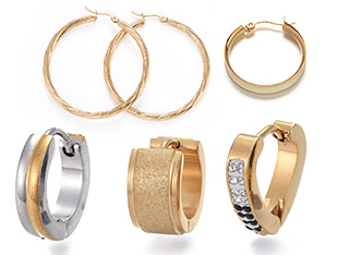 Hoop Earrings Up To 50% OFF