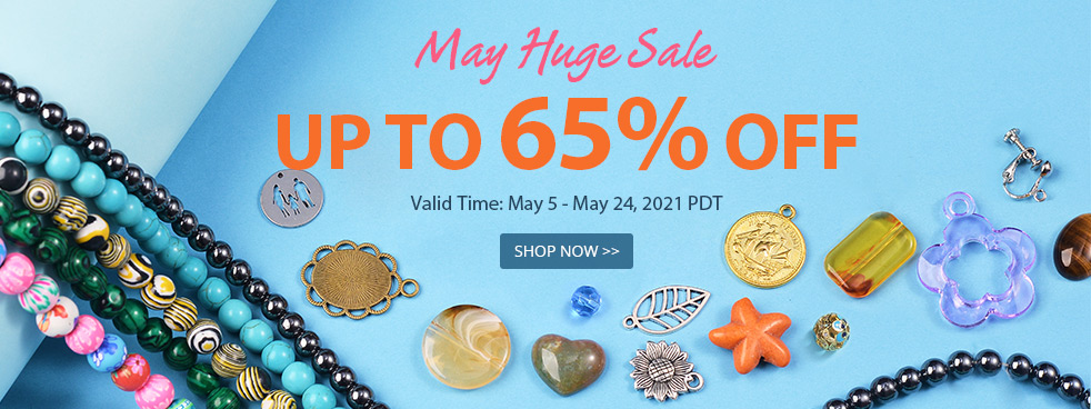 May Huge Sale Up To 65% OFF