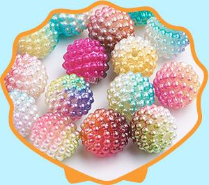 Acrylic Pearl Beads