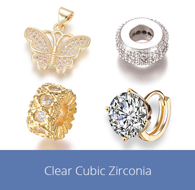 Clear Cubic Zirconia