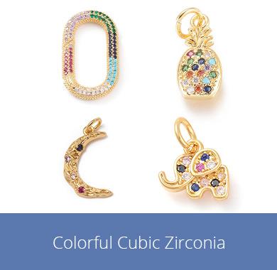 Colorful Cubic Zirconia