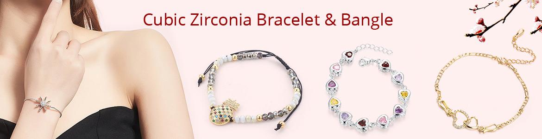 Cubic Zirconia Bracelet & Bangle