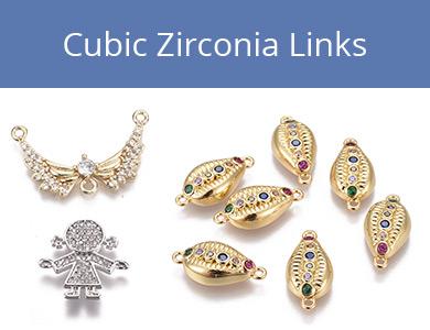 Cubic Zirconia Links
