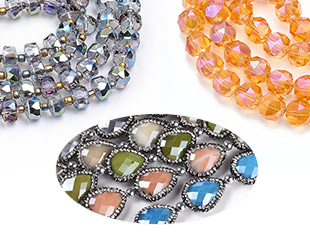 Electroplate Glass Beads UP To 50% OFF