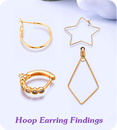 Hoop Earring Findings